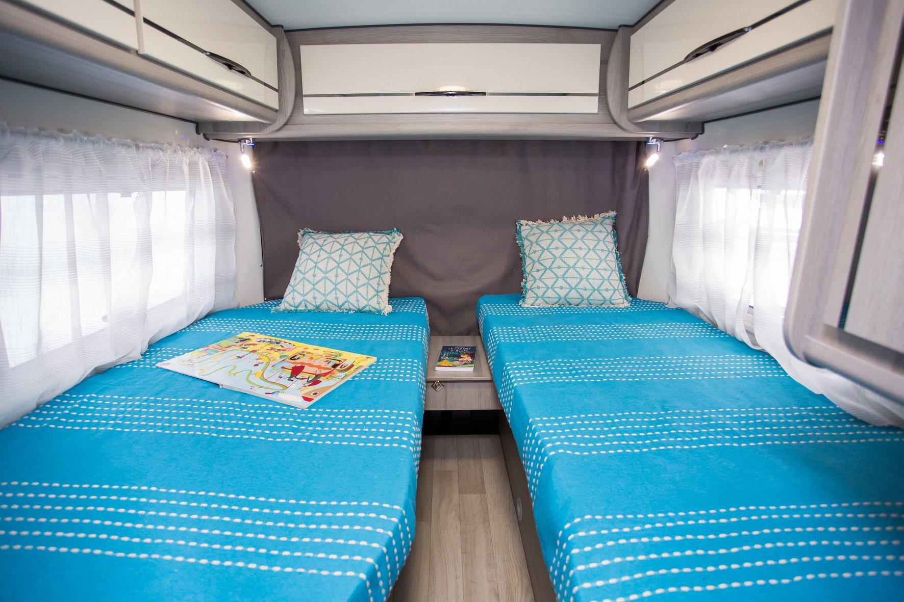 lits jumeaux camping-car