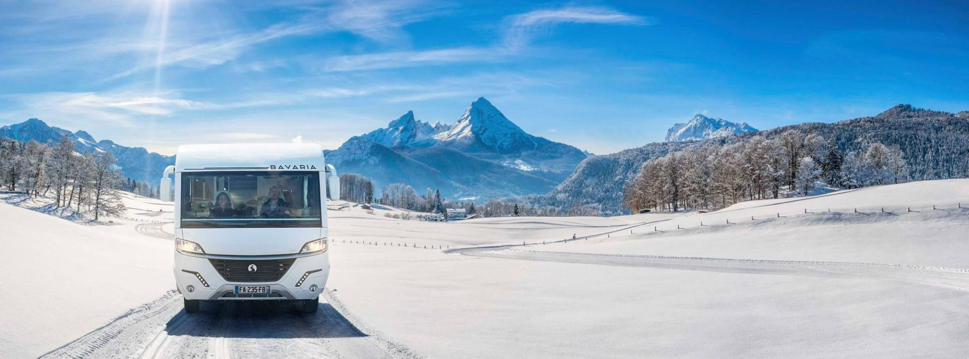 camping-car au ski