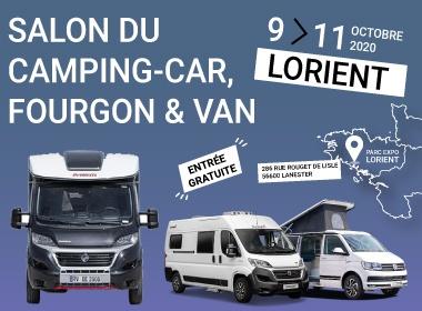 Salon du camping-car, fourgon et van de Lorient