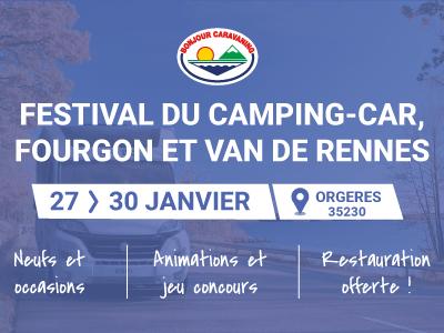Festival du camping-car, fourgon et van de Rennes